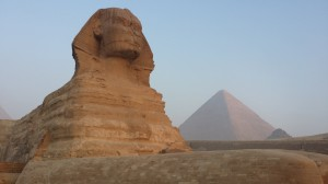 Egypt in the glow of the Sphinx
