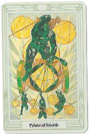 The Prince of Swords, Thoth Tarot