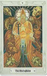 The Hierophant, Thoth Tarot