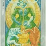 Thoth Tarot Art (Temperence)