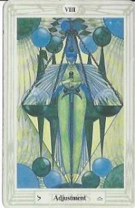 New Moon Tarot Reading - Adjustment