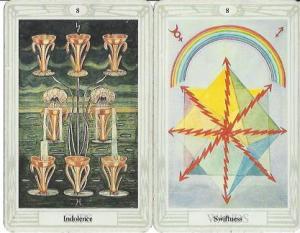 Thoth Tarot Gemini Full Moon Reading