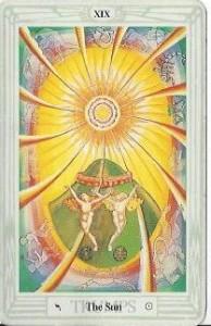 The Sun, Thoth Tarot