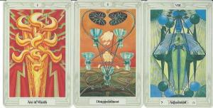 New Moon Tarot, Thoth Tarot