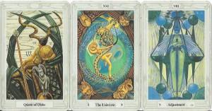 Full Moon Eclipse Tarot Reading, Thoth Tarot